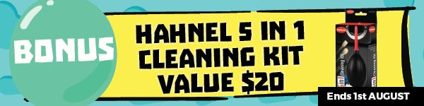 July Gifted Hahnel 5 in 1 Cleaning