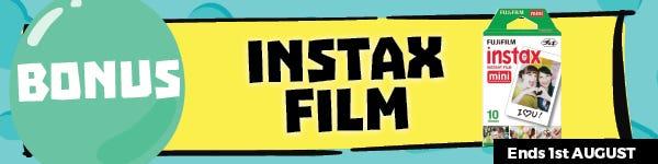 July Gifted Fujifilm Instax Mini 10 PK